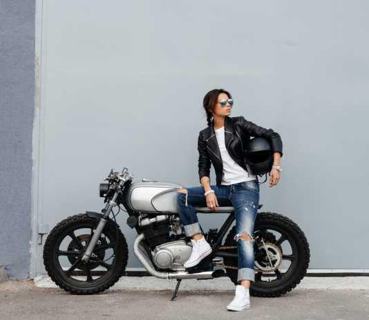 abbigliamento biker