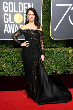 Golden Globe look