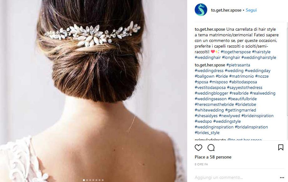 Acconciature sposa per capelli lunghi