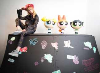 Katie Eary celebra le Powerpuff Girls