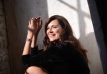 Alena Seredova nella campagna Diamonique per QVC
