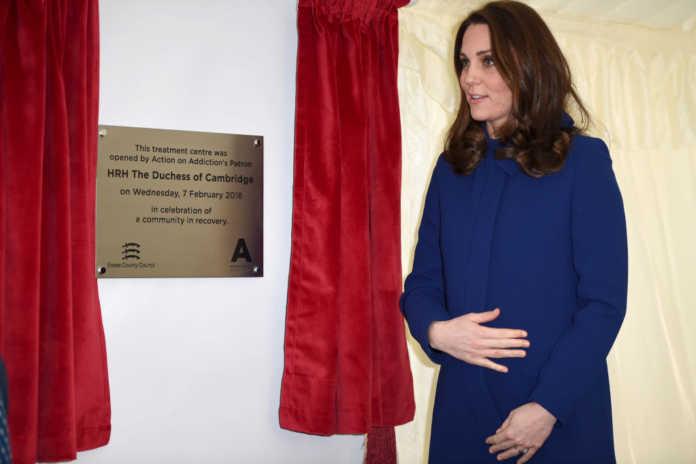 Look premaman Kate Middleton