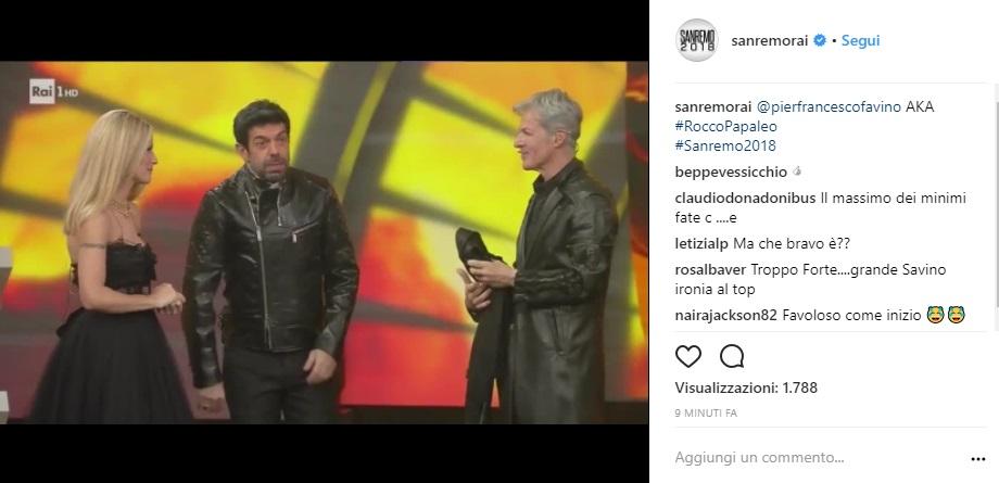 Quarta serata di Sanremo 2018