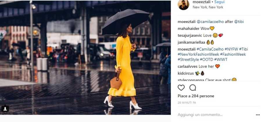 Camila Coehlo alla New York Fashion Week