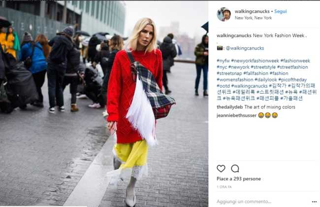 Colore e street style a New York