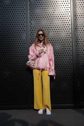 Street style primo giorno Milano Moda Donna a/i 2018/2019