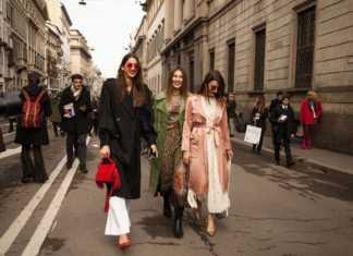 Street Style Milano Moda Donna autunno-inverno 2018 2019