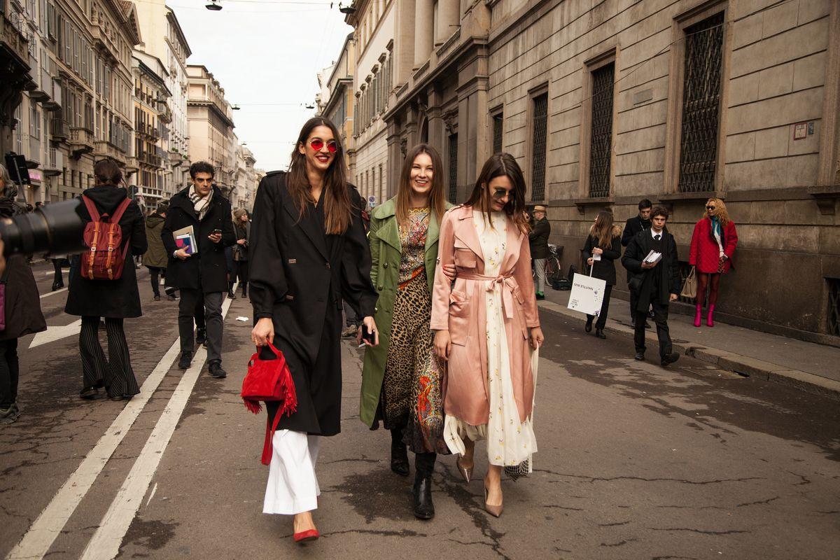 6ffc6fdf4fc62f Street Style Milano Moda Donna autunno-inverno 2018 2019