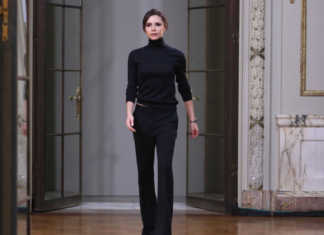 Victoria Beckham a New York Fashion Week autunno-inverno 2018-2019