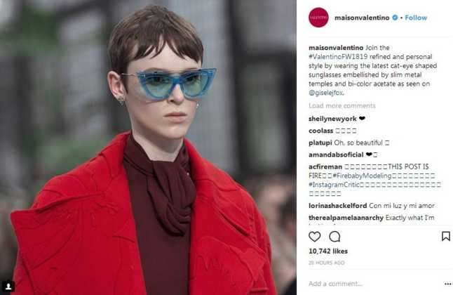 occhiali da sole AI 2018 2019