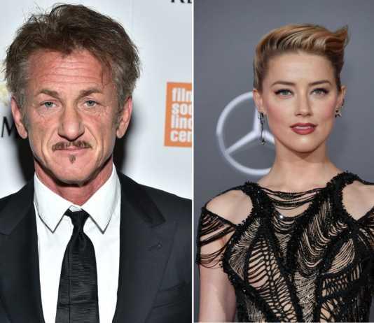 Amber Heard e Sean Penn