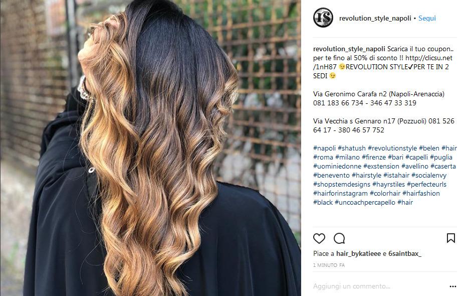colori per capelli naturali