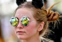 primi occhiali da sole