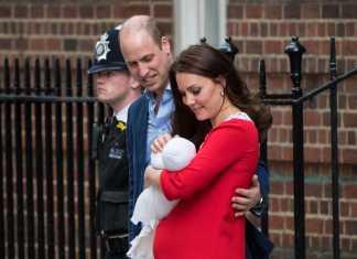Nato il terzo figlio di Kate Middleton e del principe William