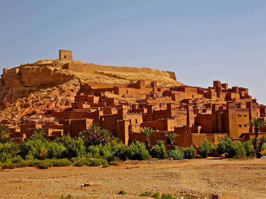 Ait Benhaddou, la città fortificata - Fonte: Pixabay