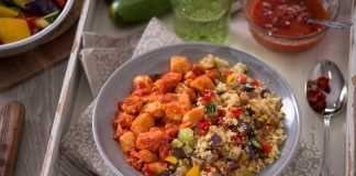 Cous cous con pollo e verdure. Photo Courtesy Press Office