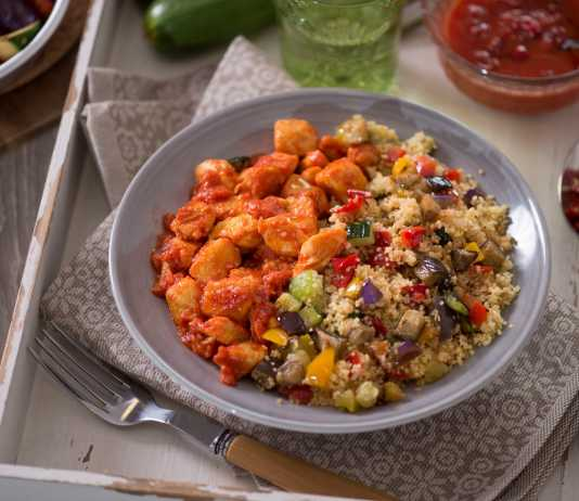 Cous cous con pollo e verdure. Photo Courtesy Press Office