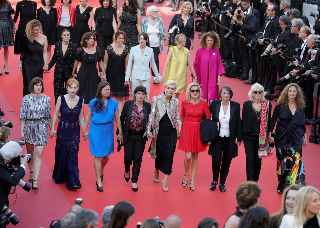 Donne in protesta a Cannes 2018