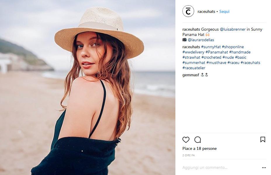 Cappelli come si portano quest estate 2018  Il Panama è il must have 789b10fd4571