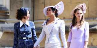 look degli invitati al Royal Wedding