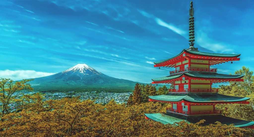 Il monte Fuji - Fonte: Pixabay