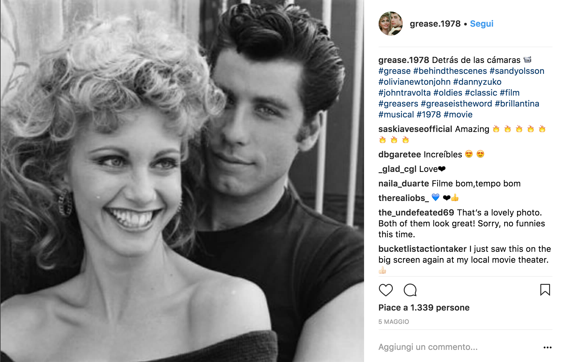 Grease entra negli anta