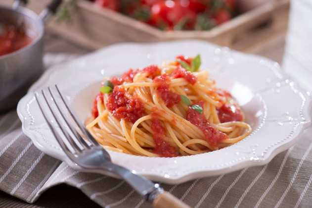 Spaghetti al pomodoro. Photo Courtesy Press Office