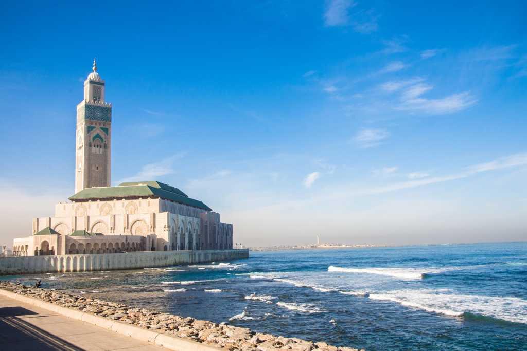 Casablanca, la Moschea: Fonte: Pixabay