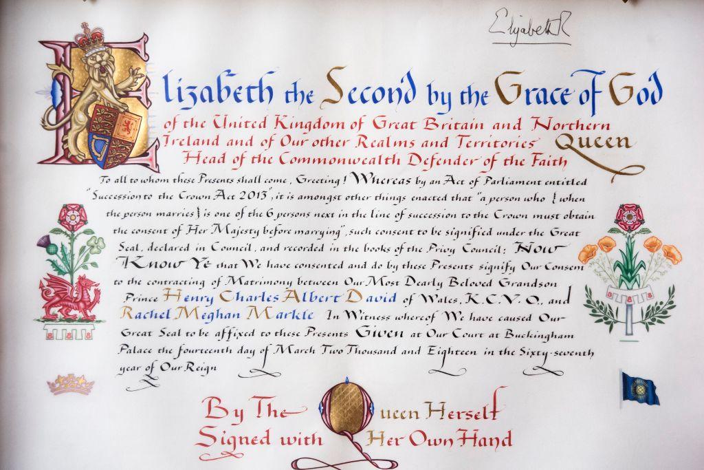consenso della Regina Elisabetta II
