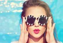occhiali da sole per viso lungo