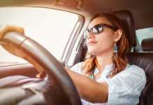 occhiali da sole per guidare