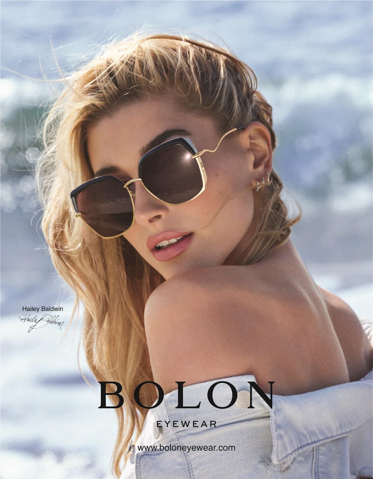 Hailey Baldwin per Bolon Eyewear