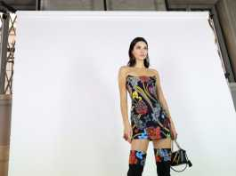 Kendall Jenner in minigonna