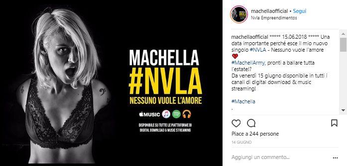 Machella nuovo singolo