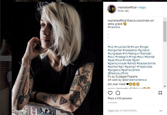 Machella tatuaggi