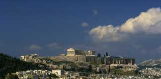 Mare vicino Atene