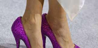 piedi di Chiara Ferragni