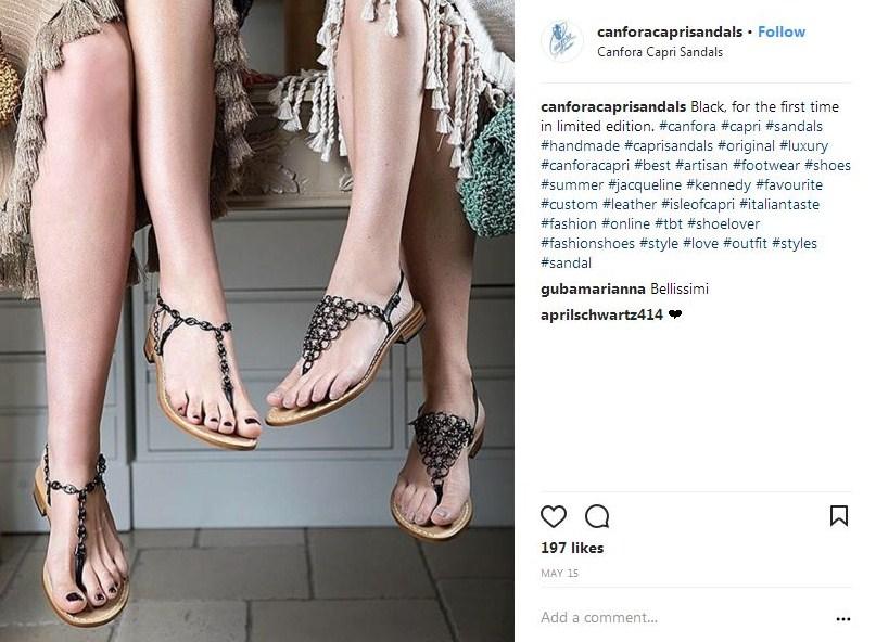 dove comprare sandali capresi