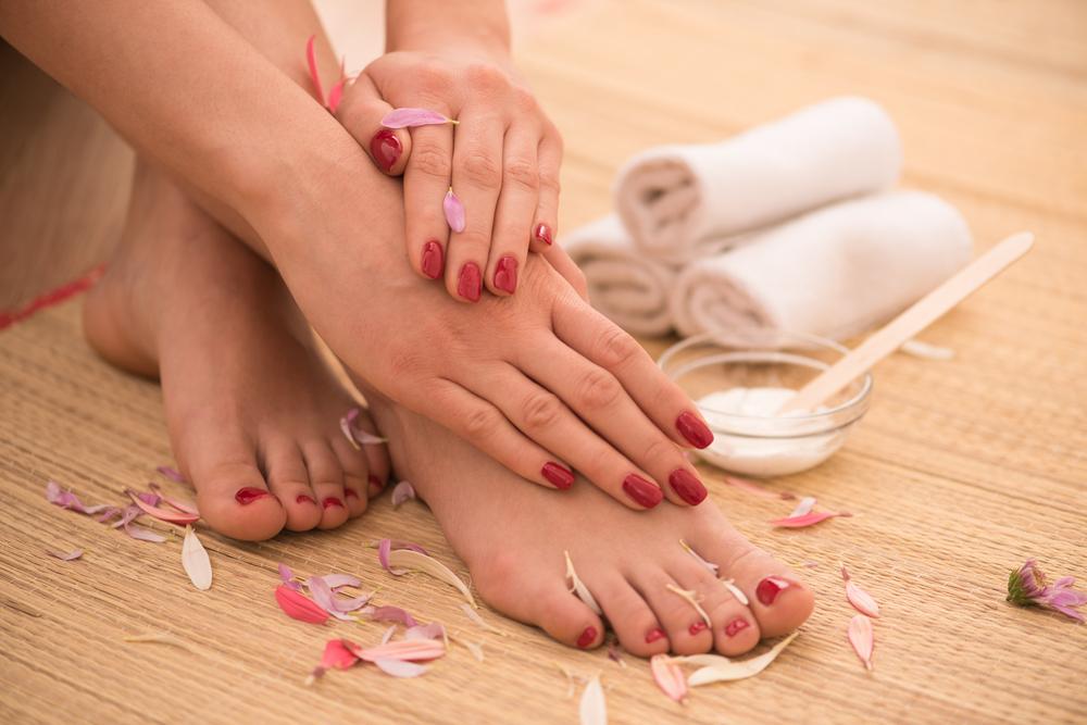 piedi lisci come seta