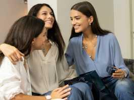 Paola Turani, Gabrielle Caunesil e Alba Rico Navarro per Morellato