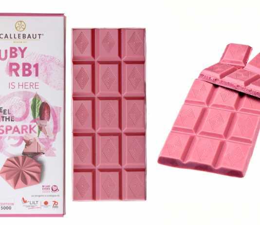 Il cioccolato rosa di Lilt