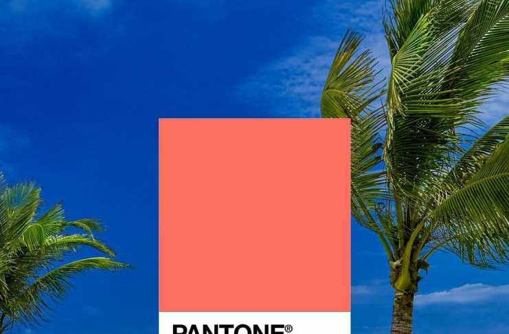 Pantone Living Coral (foto da Facebook Pantone)