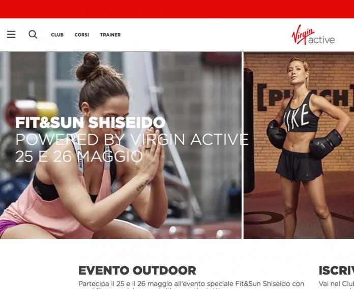 Shiseido con Virgin Active: movimento & protezione