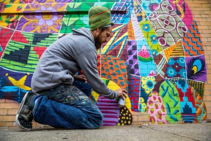 Street Artist, Louis Masai