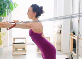 pilates, at home